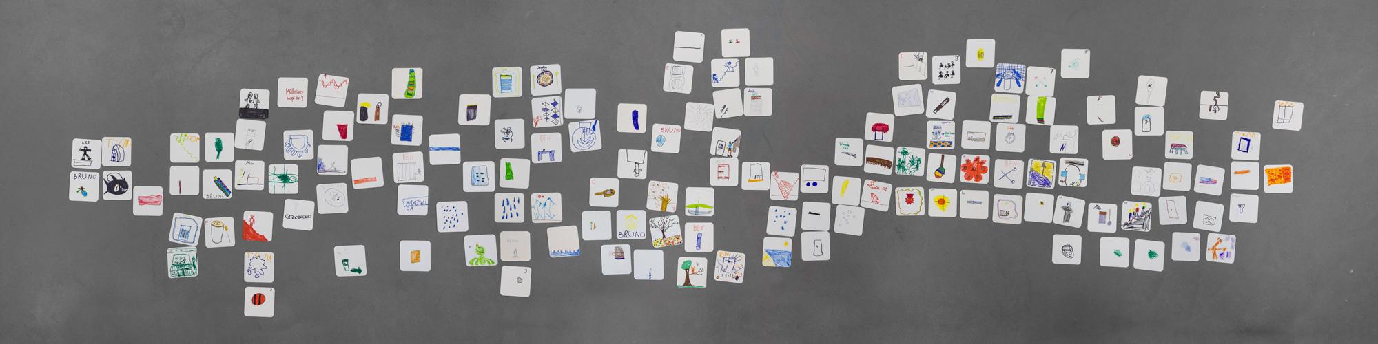Eine grafische Partitur von Grundschülern