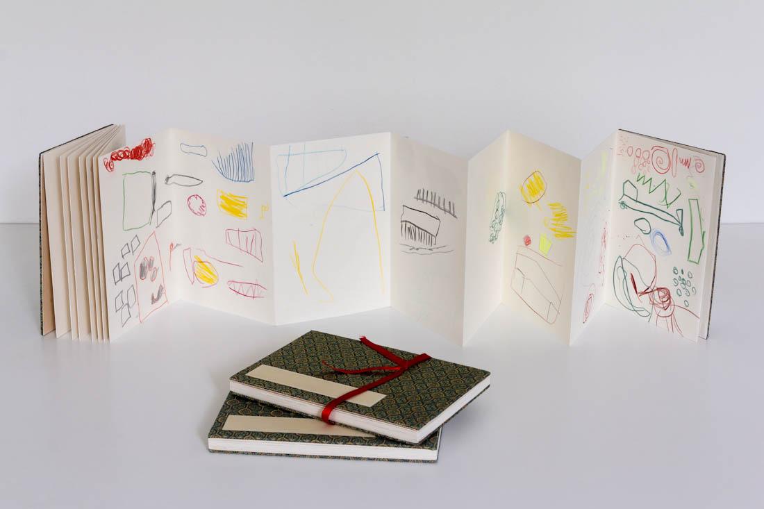 Anderland - Klangwelten und Geräuschmusik: Leporello-Tagebücher